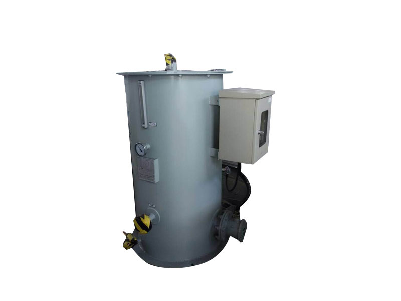 water bathed gasifier
